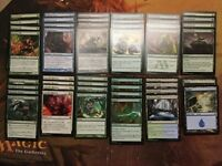 MTG Infect Deck - Green Blue - Very Fast Poison - Pauper Legal Deck Look!! Magic