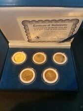 More details for 1999 five statehood quarter dollars special edition coin set
