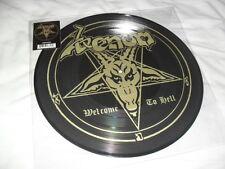 Venom-Bienvenidos al Infierno-impresionante Ltd Edition Rara Imagen Lp Nuevo en Negro