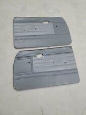 1984 1988 Toyota Truck Door Panels Grey