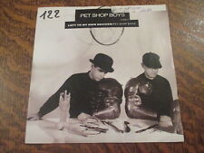 45 tours pet shop boys left to my own devices