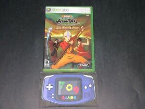 Avatar: The Last Airbender - The Burning Earth (Microsoft Xbox 360, 2007)