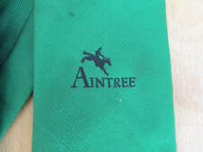 AINTREE Racecourse Horse RACING Green Tie - SEE PICTURES