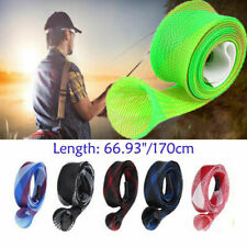 1.7m Hollow Sport Casting Fishing Rod Cover Sleeve Jacket Sock Protector Bag Lot
