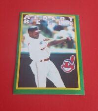 1996 Panini Baseball Albert Belle Sticker #121***Cleveland Indians***