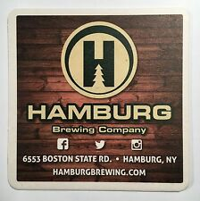 Hamburg Brewing Company Beer Coaster
