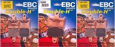 EBC HH Front & Rear Brake Pads Kawasaki ZX14, Concours 14  FA417/4HH FA254HH