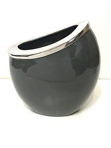 Charcoal Vase