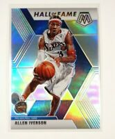 2019-20 Panini Mosaic Allen Iverson Hall of Fame Silver Prizm