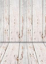 Wooden Floor Photography Backdrops Photo Studio Children Background Props 5x7FT