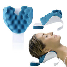 Neck And Shoulder Relaxer Pillow Pain Relief Cervical Spine Supporter Alignment