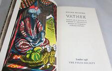 c 1958 Folio Society Book, Beckford, Vathek, VGC