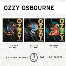 Ozzy Osbourne RARE US 3 CD Box Diary, Bark, Ultimate Sin SEALED / NEW E3K 65612