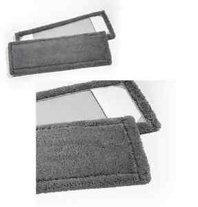 50 Stück Pack Premium Micromopp 50cm grau Wischmopp Microfaser Microfasermopp