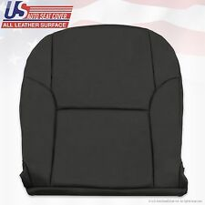2003 - 2009 Toyota 4Runner Limited Driver Bottom Leather Seat Cover Color Black