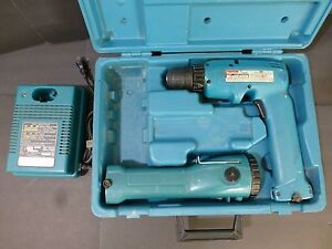 Makita Battery Fast Charger DC9015 USED & 6095D DRIVER DRILL & TOUCHLIGHT