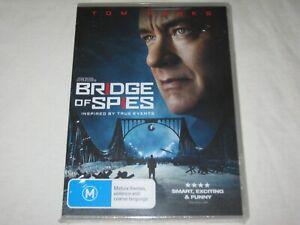 Bridge Of Spies - Tom Hanks - Brand New & Sealed - Region 4 - DVD