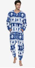 Doctor Who Fair Isle Print Union Suit jump body thermal DALEKS FAIR ISLE