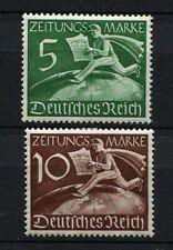 German Reich WW II : Newspaper stamps set from 1939 - mint