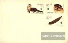 DDR U7 Officiële Envelop gefälligkeitsgestempelt gebruikt 1987 WWF