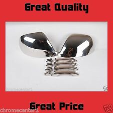 VW TRANSPORTER T5.1 CHROME WING MIRROR COVER AND DOOR HANDLE SET STAINLESS STEEL
