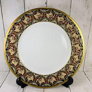 Christian Dior TABRIZ Dinner Plate 1991-99 Tapestry Vintage 10 3/4 Approx