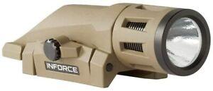 Inforce WML 400 Lumens Gen 2 White Light Flat Dark Earth Body W-06-1 Weapon Moun