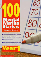 Year 1 (100 Mental Maths Starters), Gronow, Margaret, Very Good condition, Book