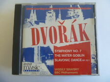 DVORAK SYMPHONY 7 WATER GOBLIN SLAVONIC DANCE  OUT OF PRINT BBC FREEPOST CD