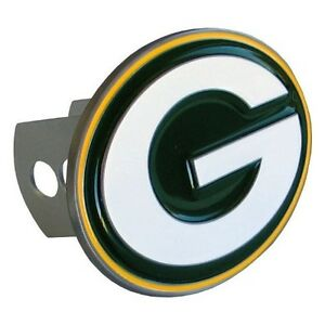 Logo Shaped Hitch Cover - NFL - Green Bay Packers