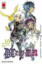 PM263 - Planet Manga - D Gray Man 19 - Ristampa - Nuovo !!!