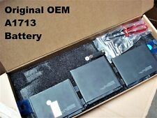 Genuine OEM Apple A1713 Battery for MacBook Pro 13 A1708...