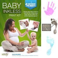 Inkless Wipe Handprint Footprint Baby Shower Keepsake - Customise Your Contents