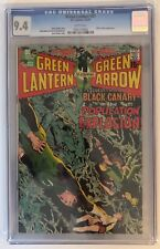 GREEN LANTERN #81 - CGC 9.4 -  BLACK CANARY APPEARS - WHITE PAGES