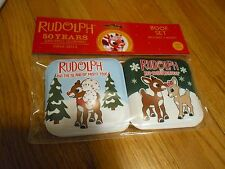 New !  Rudolph The Red Nosed Reindeer baby squeak bath Two book set  Gift