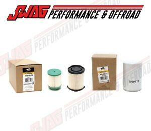 WIX Oil & Fuel Filter Set For 16-18 Nissan 5.0L Cumminns Diesel Titan XD Diesel
