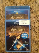 Princess Mononoke (Blu-ray/Dvd, 2014, 2-Disc Set)New Authentic Disney Us