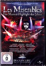 DVD LES MISÉRABLES In Concert 25 Anniversary Claude-Michel Schönberg Miserables