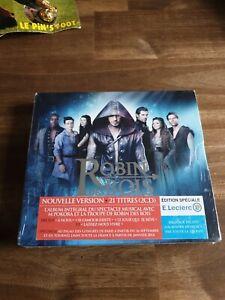 CD Robin des Bois édition spéciale digipack + 1 poster NEUF SOUS BLISTER !!!