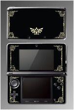 Legend of Zelda Link Princess Hyrule Logo Video Game SKIN Cover Nintendo 3DS