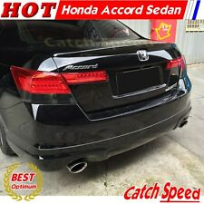 Painted OE Type Trunk Spoiler For Honda Accord Sedan 2008 2009 2010 2011 2012