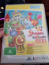 Muppet Babies - Shapes and Colours Ages 2-5 -  PC GAME - FREE POST *