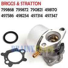 Carburetor for BRIGGS & STRATTON 799868 799872 790821 498170 497586 498254 Carb