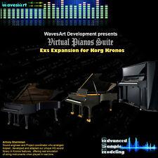 Korg Kronos EXs Sound Library Pianos Suite