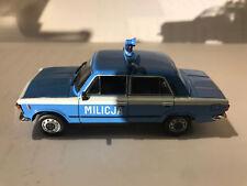 FIAT 125 P MILICIA POLAND SERVICES CARS 1:43 DeAGOSTINI IXO