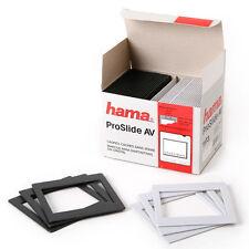 25 x Hama Slide Mounts Pro Slide AV 6 x 7 / 60 x 70 mm Format , 8.5 x 8.5 cm i
