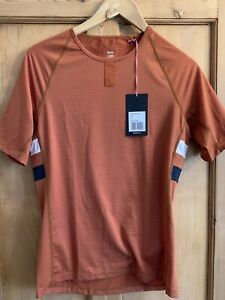 Rapha Brevet Base Layer Orange Size XL Brand New With Tags