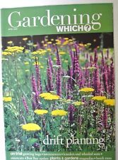Gardening Which? Magazine. April, 2003. Drift planting. Growing bags. Sweetcorn.