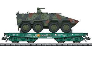 """Trix 24224 Schwerlastwagen RImmps der BW beladen mit GTK """"Boxer"""" #NEU in OVP#"""
