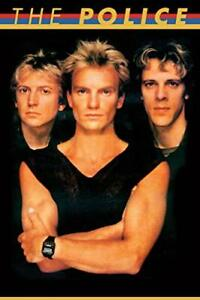 The Police 80s Art Print Poster 24x36